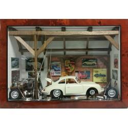 LE GARAGE PORSCHE 356 CREME