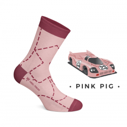 CHAUSSETTES PINK PIG