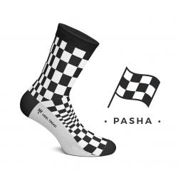 CHAUSSETTES PASHA NOIR / BLANC