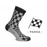 CHAUSSETTES PASHA NOIR / GRIS