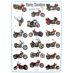 AFFICHE HARLEY DAVIDSON