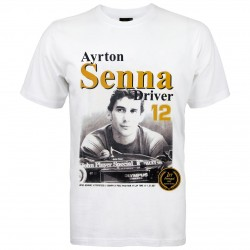 AYRTON SENNA T-SHIRT PREMIERE VICTOIRE 1985