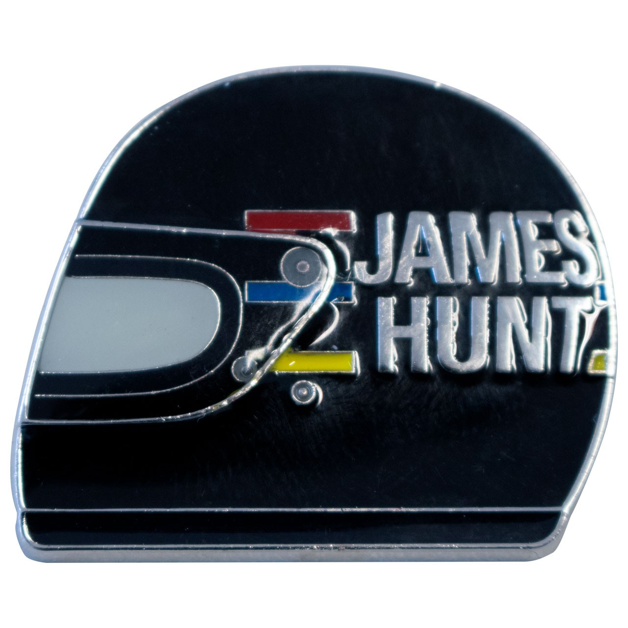 JAMES HUNT PIN'S CASQUE 1976