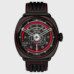 REBELLION TWENTY-ONE GMT ROUGE NOIR