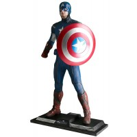 STATUE TAILLE REELLE CAPTAIN AMERICA THE AVENGERS
